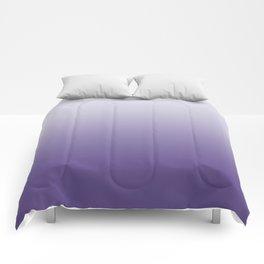 Ombre Ultra Violet Gradient Motif Comforters