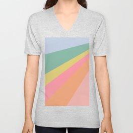 Sweet Rainbow Road Unisex V-Neck