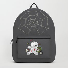 Voodoo doll shelf Backpack