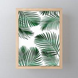 Tropical Palm Leaf Framed Mini Art Print
