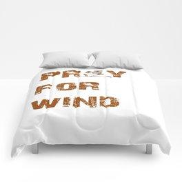 Kitesurfers Pray for Wind Comforters