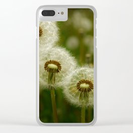 Just the Three of Us Clear iPhone Case
