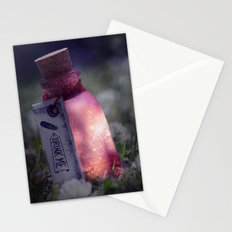 Drink me poison Stationery Cards