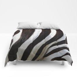 """Pop Safari 01 Zebra"" Comforters"