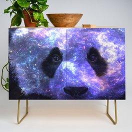 Galaxy Panda Space Colorful Credenza