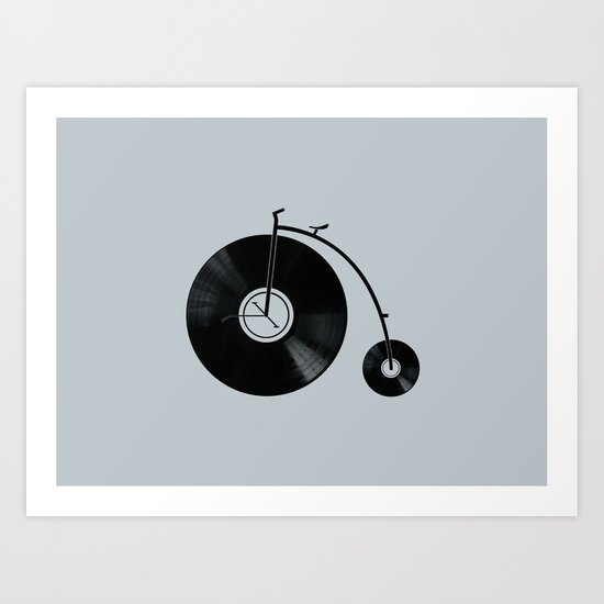 Ride Your Music! Art Print