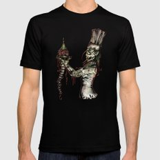 Zombie Pastry Chef Black Mens Fitted Tee LARGE
