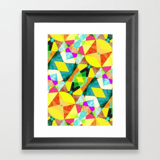 Kaleidab Framed Art Print