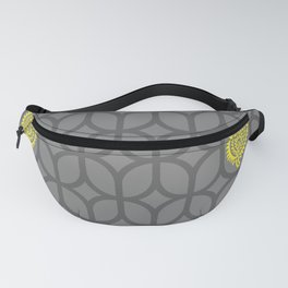 PAISLEY DIAMOND - GREY/YELLOW Fanny Pack