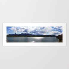 Colorado Lake Art Print
