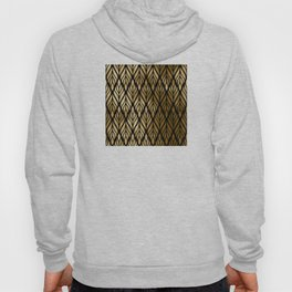 Havana Sultry Night Gold and Black Art Deco Hoody