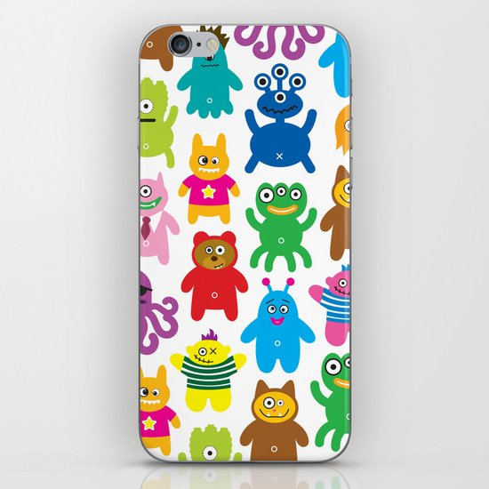 Monsters and Aliens iPhone & iPod Skin