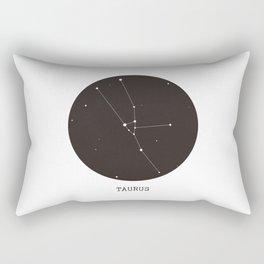 Taurus Star Constellation Rectangular Pillow