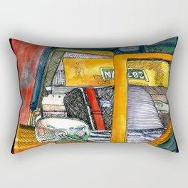 Show Thing Up Close Rectangular Pillow
