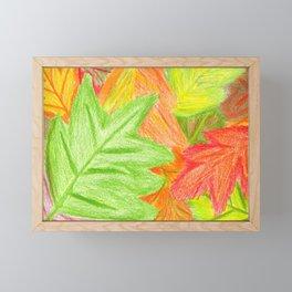 Feelin' Color-Fall Framed Mini Art Print
