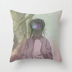 CRIKCET MIND O1 Throw Pillow