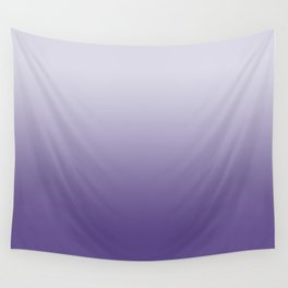 Ombre Ultra Violet Gradient Motif Wall Tapestry