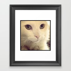 pretty eyes Framed Art Print
