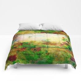 Ginkelmier Land ~ Watercolor Fairy Garden Comforters