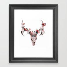 ANIMAL SKULL Framed Art Print