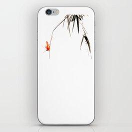 Chinese Shui-mo(水墨)- Grasshopper iPhone Skin