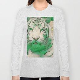 Green Tiger Long Sleeve T-shirt