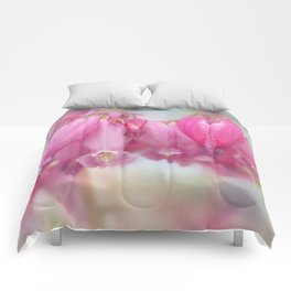 Spring Pink Comforters