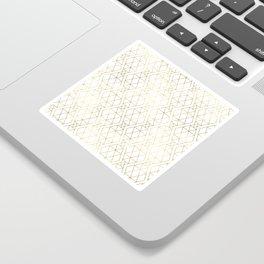 Modern Art Deco Geometric 1 Sticker