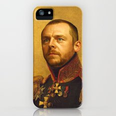Simon Pegg - replaceface iPhone (5, 5s) Slim Case