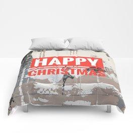 Snowfall - Happy Christmas Comforters