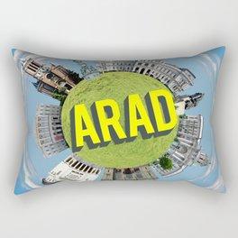 arad little planet Rectangular Pillow