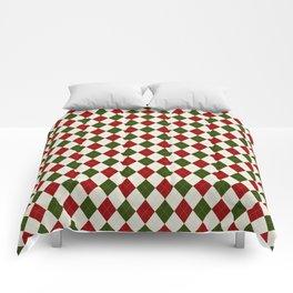 Christmas Argyle Comforters