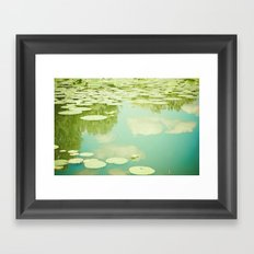 Summer Reflections Framed Art Print