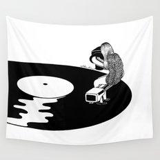 Don't Just Listen, Feel It Wall Tapestry