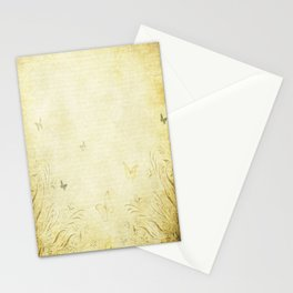 Antique Butterfly Garden Stationery Cards