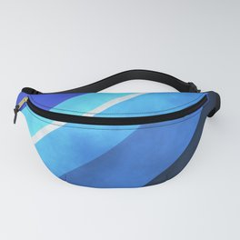 Parallel Blues Fanny Pack