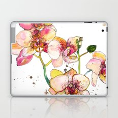 Pink Orchids Laptop & iPad Skin