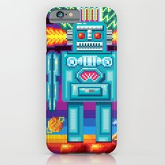 Pixel Robot iPhone 6s Slim Case