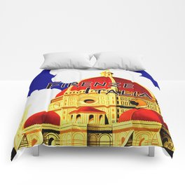 Firenze - Florence Italy Travel Comforters
