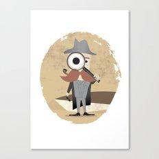 Mr. Detective Canvas Print