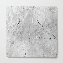 Moon Rock Metal Print