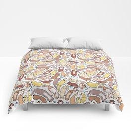 Adorable Otter Swirl Comforters