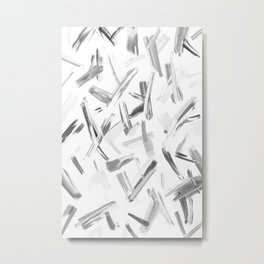 Abstract Painting No. 30 - Hustle and Bustle Metal Print