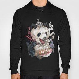 Panda Eating Ramen In A Tin Foil hat Hoody