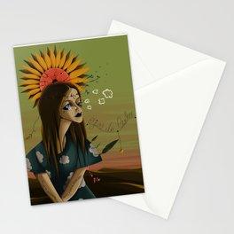 EYES MADE OF SKY Stationery Cards