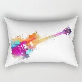 Funky Guitar Rectangular Pillow