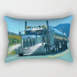 On the Highway Home Rectangular Pillow