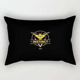 Team Instinct - In our guts we trust Rectangular Pillow