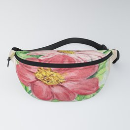 Dahlia Seed Packet Fanny Pack