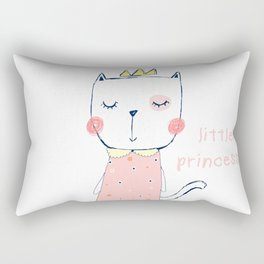 CAT CARTOON PRINCESS Rectangular Pillow